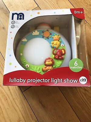 Mothercare Lullaby Projector Light Show Nursery