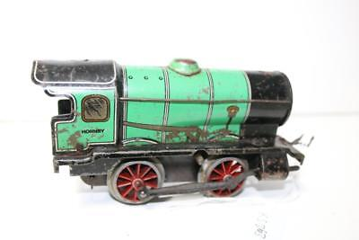 hornby o gauge loco  needs servicer run ok  no key needs chimney  ks363