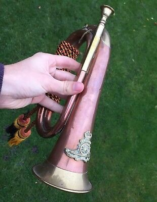 Antique Military Brass Copper Bugle