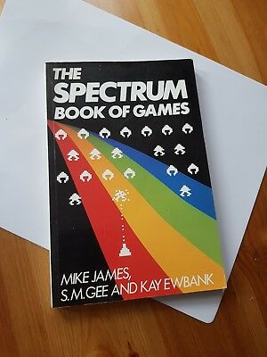 Sinclair ZX Spectrum games book 8bit 80s collector's item