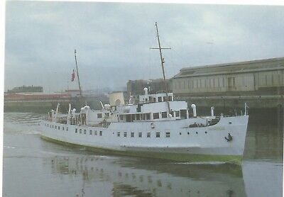 Balmoral posted in cardiff 1987. with on board cachet,