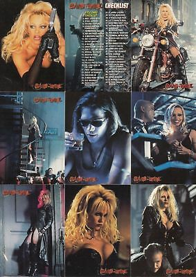 Barb Wire - Complete Card Set (1-72) 1996 Topps @ Near Mint
