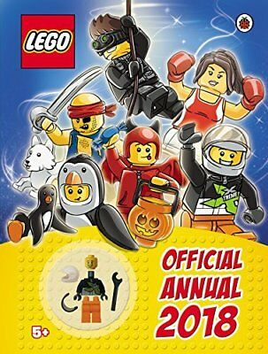 LEGO Official Annual 2018 by Ladybird New Hardcover Book