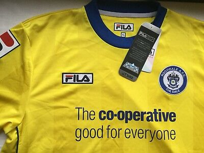 Rochdale AFC adult football shirt. XL. New With Tags. See description.