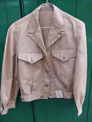 Dead Stock WW2 CC41 UTILITY jacket blouse never worn! All labels present