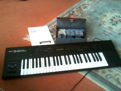 Superb Roland S10 Sampling Keyboard.little Used.classic Roland With Discs