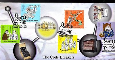 2003 Bletchley Pk Cover Dna Code  P- Mark Excellent Condition