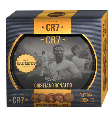 Fine Butter Cookies Cristiano Ronaldo 12 x 454g Real Madrid CR7 soccer football