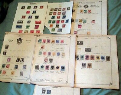 Bosnia & Herzegovina, Serbia & Bavaria Collection, Mint & Fine Used, High Cv.