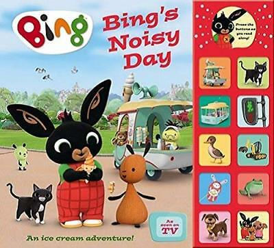 Bing's Noisy Day: Interactive Sound Book (Bing) by  New Hardcover Book