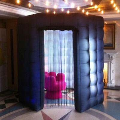 OCTAGON STYLE Inflatable Pro LED Photo Booth Enclosure Octagon Tent 110V America