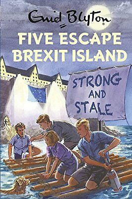 Five Escape Brexit Island Enid Blyton for G by Bruno Vincent New Hardcover Book