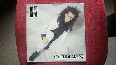 Dead Or Alive /Pete Burns Tour Program YOUTHQUAKE 1985