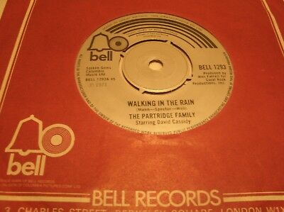 The Partridge Family - Walking In The Rain  Bell1293 Uk 1973