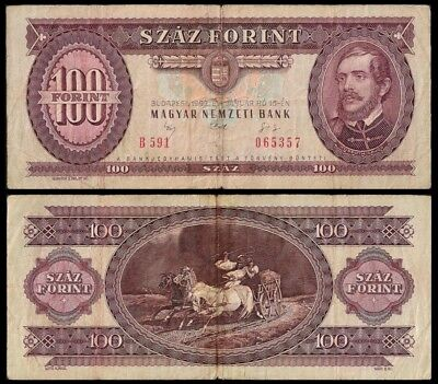 Hungary 100 FORINT 15.1.1992 P 174a USED