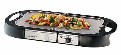 Oster Bioceramic Electric Griddle - Double Layer Ceramic Coating Grill
