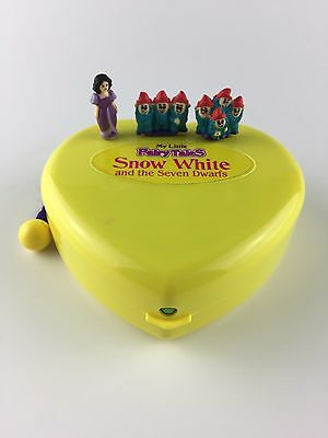 MY LITTLE FAIRY TALES Polly Pocket Style Snow White & The Seven Dwarfs *COMPLETE
