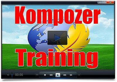 Kompozer Training Videos, How to create your first professional looking website
