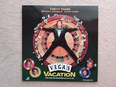 """LaserDisc-""""CHEVY CHASE in """"VEGAS VACATION"""""""