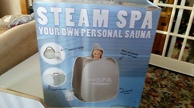 portable personal steam spa