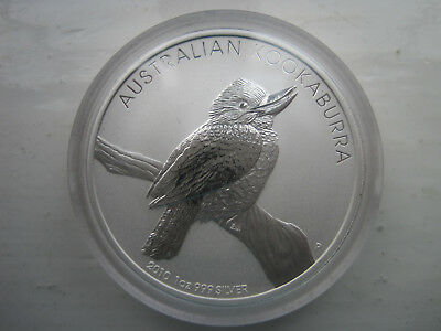 Australia Silver Dollar special edition proof 2010 With c.o.a Kookaburra