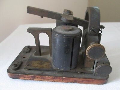 antique telegraph relay Ghegan sounder patent July 16 1901