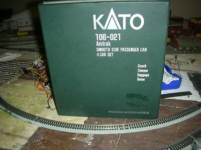 KATO N scale AMTRAK 4 car passenger set