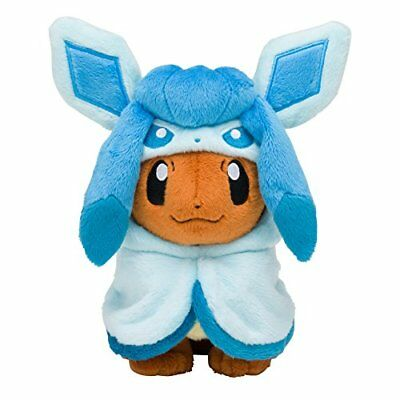 Pokemon Center Original Plüsch Puppe Eevee Poncho Serie GC (Japan Import)