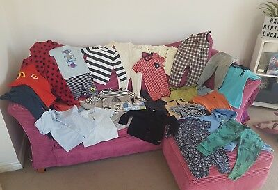 Huge baby boys bundle 30 items 18-24m, Ralph Lauren / Oshkosh / River Island etc