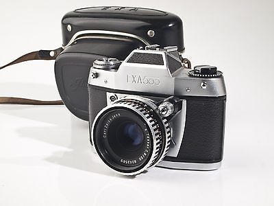 Exa 500 with Zeiss Tessar 2.8 / 50mm Lens - fully working - exc.+