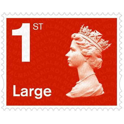 Wholesale Joblot Large Letter Royal Mail Stamp First 1st Class Self Adhesive