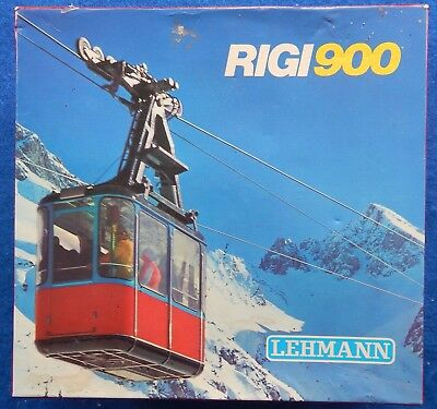 LEHMANN RIGI900 CABLE CAR - BOXED missing passengers