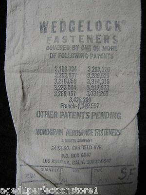 Old Hardware Bag - HEDGELOCK FASTENERS - Norteck Company