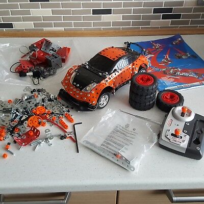 Meccano Remote Control Car