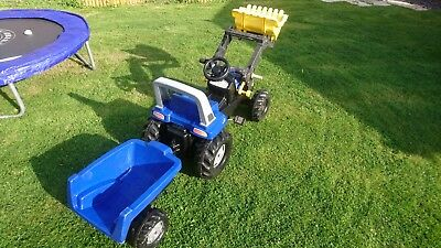 childs pedal tractor