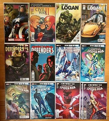 Mixed LOT OF Marvel 1980s to 2017 Comic Book Lot all comics