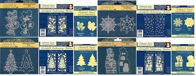 Tattered Lace Schablonen & embossings Ordner Kollektion Weihnachten Designs