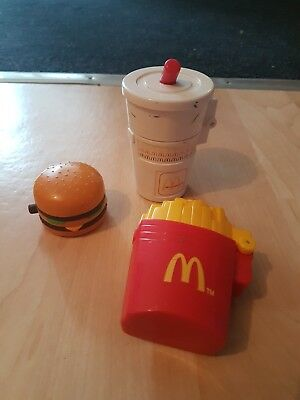 90's McDonald's vintage toys, bundle of 3!