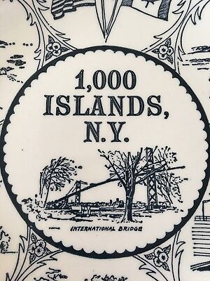 1000 Islands NY Collectable Plate