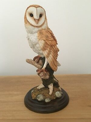 Barn Owl CA431 by Country Artists