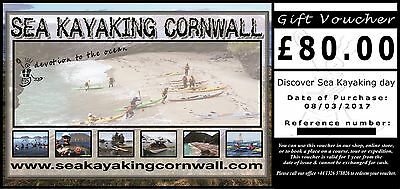 MAKE OFFER Sea Kayaking Cornwall £80 Voucher SEA TRIP or USE IN SHOP exp. 8/3/18