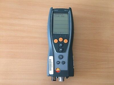 Testo 327-1 combustion Flue Gas Analyser No calibration FAULTY ON OFF BUTTON