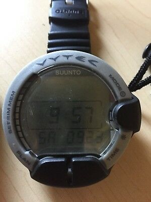 Suunto Vytec Dive Computer with Integrated Wireless Air Monitor Transmitter