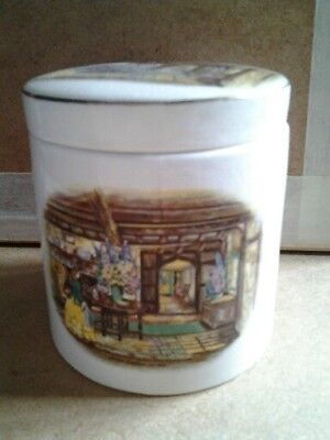 Sandland ware trinket pot- Home sweet home