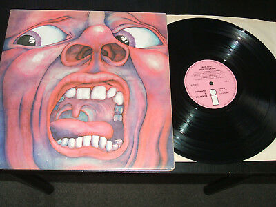 KING CRIMSON - In The Court Of The Crimson King - 1969 1st issue A2/B4 - EX+ vin