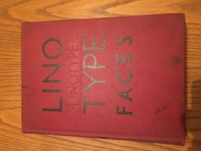 Linotype Faces Book