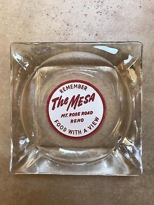 Vintage Casino Ashtray The Mesa Reno Nevada