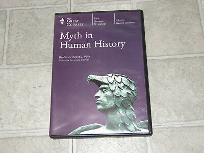 The Great Courses -  Myth in Human History 6 DVD Set