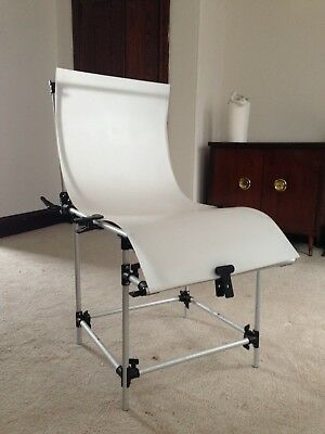 Product Photography Shooting Table.  Translucent.