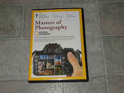 The Great Courses - National Geographic Masters of Photography 4 DVD Set